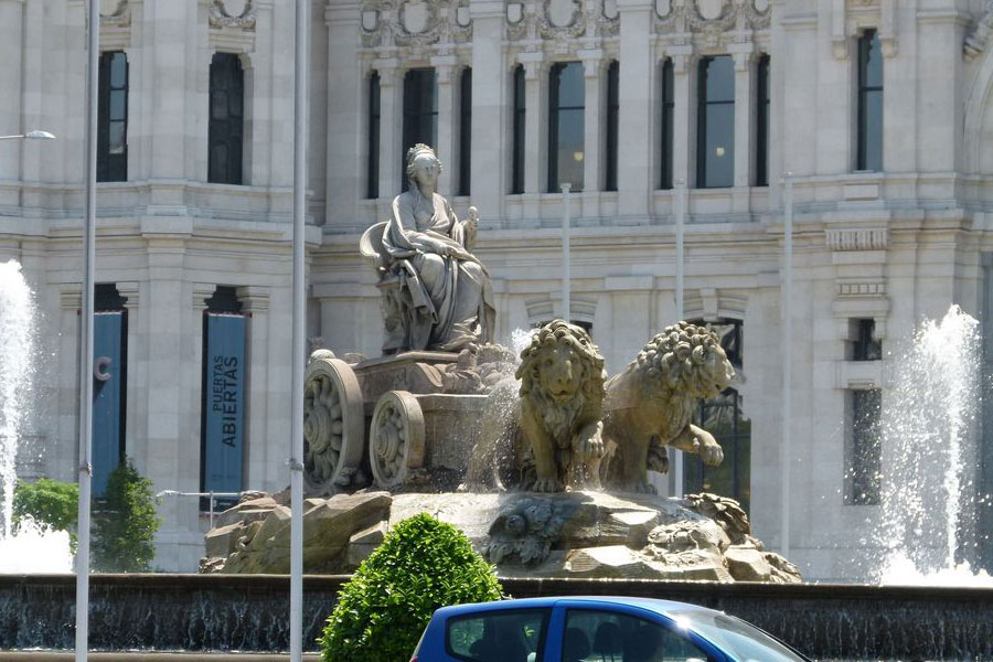 Fountain of Cibeles Madridfacts
